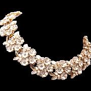 Enameled Flower Necklace