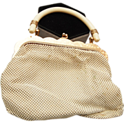 SOLD Whiting and Davis Enameled Mesh Purse