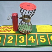 SALE Chuck A Luck Tin Bird Cage Dice Game by J. Chein & Co. 1920-1930