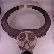 Large Old Bobo-Fyng Dance Mask - Bobo Fing