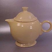 Pale Yellow Fiesta Teapot