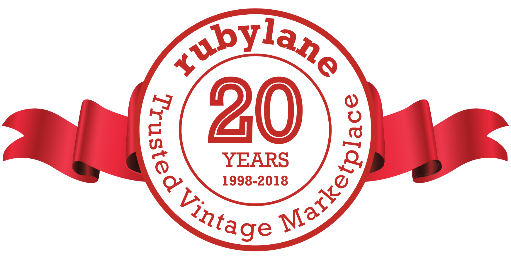 Ruby Lane 20th Year | Your Trusted Vintage Marketplace