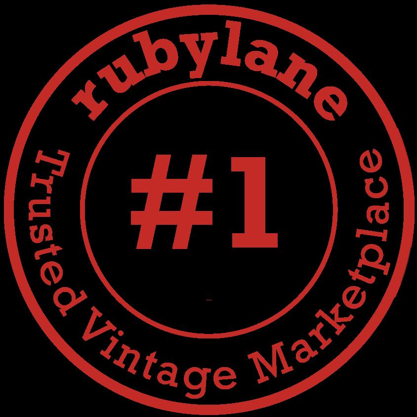 Ruby Lane #1 Trusted Vintage Marketplace