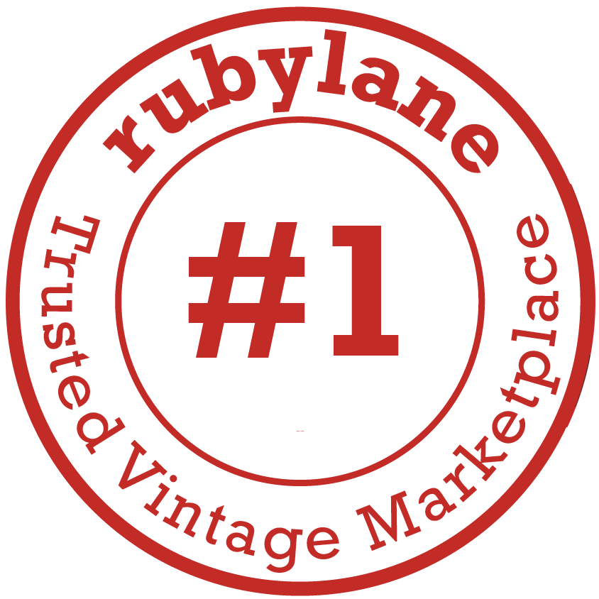 Ruby Lane #1 Trusted Vintage Marketplace