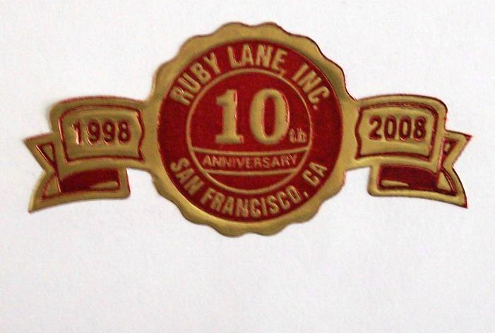August 15: Ruby Lane officially turns 10!