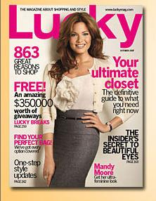 Lucky Magazine names Ruby Lane one of its favorite web sites to shop