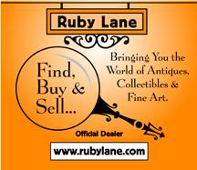 The Ruby Lane Logo shop officially opens