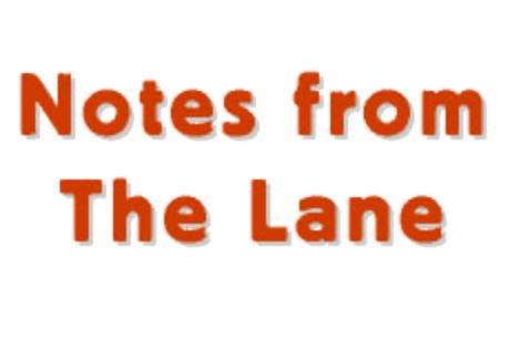Launches its blog: Notes from The Lane