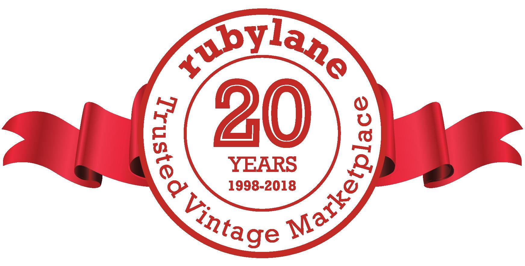 Ruby Lane Celebrates 20th Anniversary