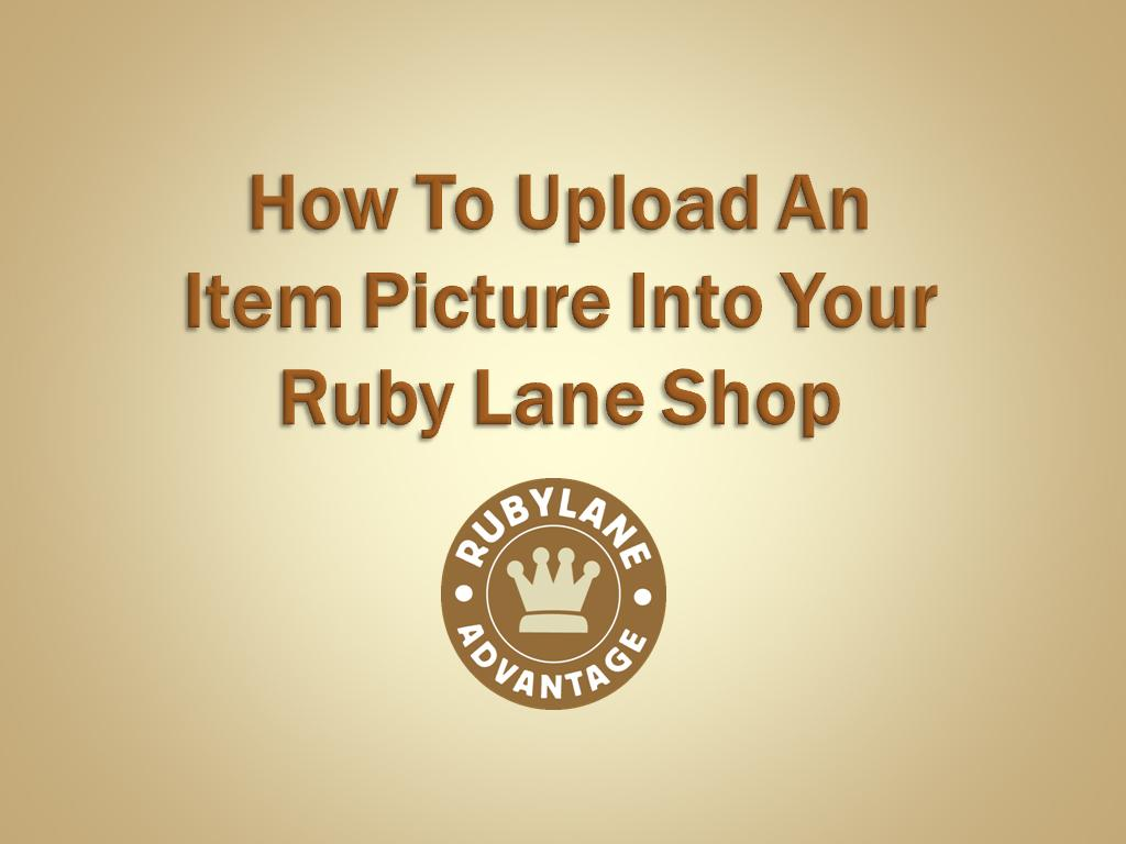 Ruby Lane launches online video tutorials