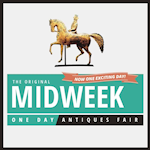 Mid-Week One Day Antiques Fair Logo