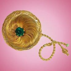 Vintage Hattie Carnegie Flower Brooch Pin