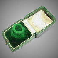 Antique c1910 Jewelry Ring Box