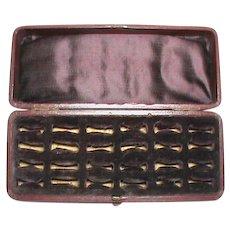 Antique Victorian c1900 Multi Ring Box