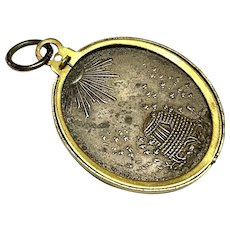 Antique French Beehive Locket