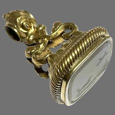 Antique 19th Century Agate Intaglio Seal