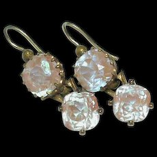 Antique Victorian SAPHIRET Earrings