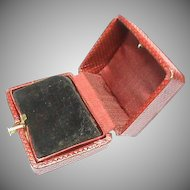 Antique Victorian c1900 Jewelry Earring Box