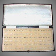 Large Antique Multi Ring Display Box