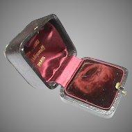 Antique c1900 Jewelry Ring Box