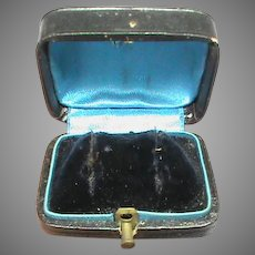 Antique Victorian Jewelry French Earring Box