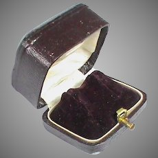 Antique 19th Century French Earring Box