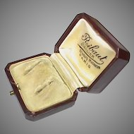 Antique Victorian c1900 Earring Box - Parisian