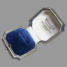 Quality Antique English Ring Box