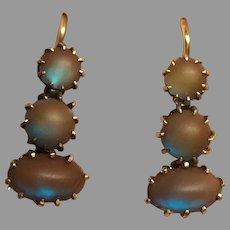 Antique Victorian SAPHIRET Earrings