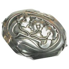 Antique Art Nouveau Silver Box