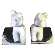 The Cutest Pair of Terrier Doggie Bookends ever