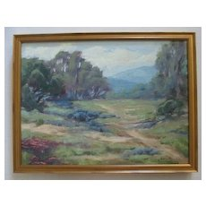 Lovely plein air California landscape by Kevin Yuen