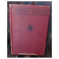 First Edition Tarzan the Terrible by Edgar Rice Burroughs