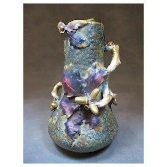 Organic Austrian Imperial Amphora vase