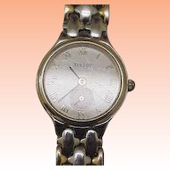 Women Estate 14k Gold Plated Tissot Watch
