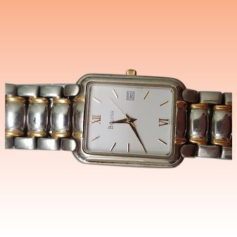 Ladies Bulova Gold filled Watch Quartz m98849 nice!