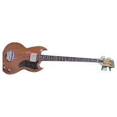 Rare! Vintage 1966 Gibson EB-0 Electric Bass Guitar