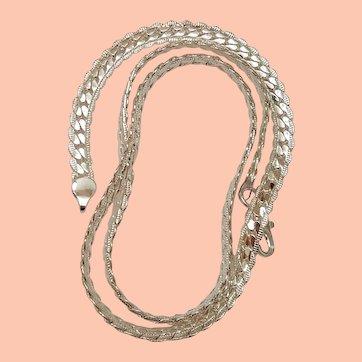 Estate Unisex Sterling Silver 925 Necklace