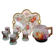 Haviland Limoges Cider or Lemonade Set France