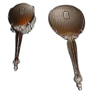 Webster Sterling Silver Mirror and Brush Set