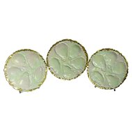 Haviland Limoges France 3 Oyster Plates