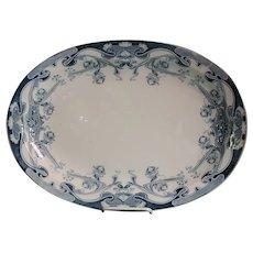 Royal Staffordshire Iris Transferware Arthur Wilkinson  Large Platter