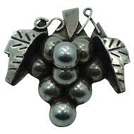 Sterling Brooch Pendant Mexico