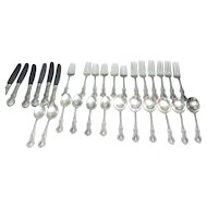 Fine Arts Sterling Silver Flatware Southern Colonial Pattern