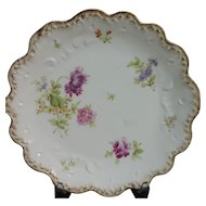 Depose France  6 Limoges  Floral Dinner  Plates