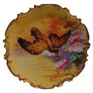 """Limgoes France 13"""" Game Plate  Charger Artist Durad"""