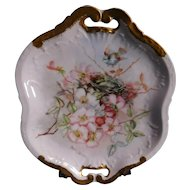 Theodore Haviland Limoges France Tray Artist Signed