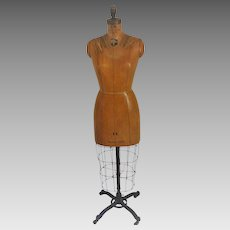1950's Dress Form With Cage