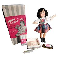 Ideal Toni doll In Box With All The Trimmings