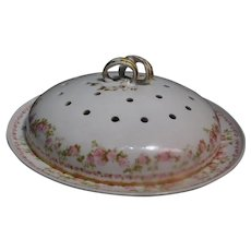 Charles Field Haviland Limoges Pancake Dish